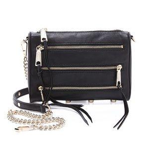 ISO Rebecca Minkoff 5 zip black bag